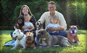 Meet the Schlosser family, owners of Lizzi & Rocco's Natural Pet Market